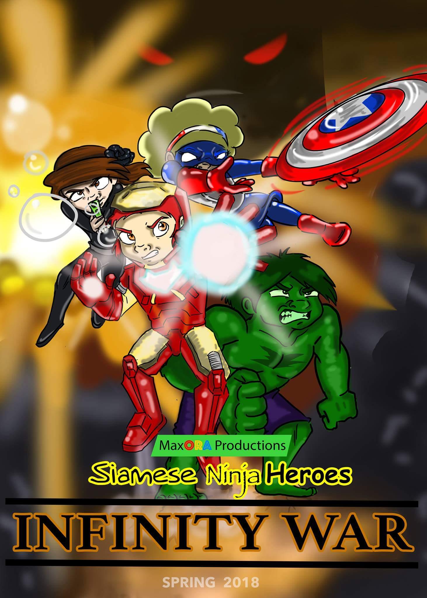 Siamese Ninja Avengers